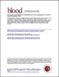 Blood-Journal ELN CML Empfehlungen